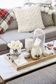 coffee table decorating with trays on coffee tables table
