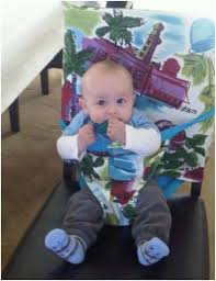 Portable Seat For Baby by Portable Fabric High Chair For Use At Dinnertime Anywhere High