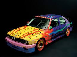 Bmw M3 1989 - bmw art car n 8 bmw e30 m3 by ken done ottority classic cars