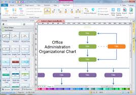 Organization Flow Chart Template Excel Administrationorgchart Png