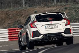 honda civic 2017 honda civic type r captures nurburgring lap record roadshow