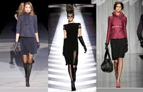 what is in style for a 70 year old woman autumn winter 2009 2010 collections fashion in the bag the