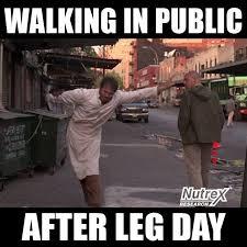 Leg Day Meme - the struggle after leg day nutrex nutrex research inc