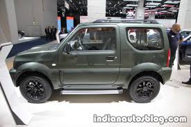 suzuki jimny suzuki jimny at iaa 2017 indian autos blog