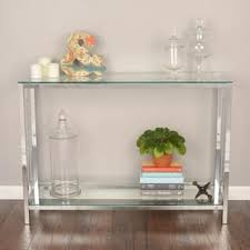 Glass Sofa Table Glass Coffee Console Sofa End Tables For Less Overstock
