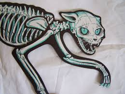 collecting vintage halloween die cut wall decorations