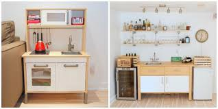 hacking the ikea varde the making of a basement kitchenette bar