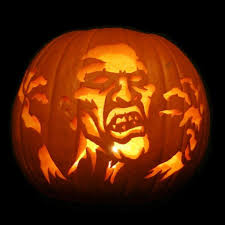 tiki pumpkin carving ideas classy image of backyard decoration using large oval above ground