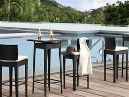 Patio Bar Height Table And Chairs Decor Of Patio Furniture Table And Chairs Home Decorating With
