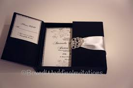 luxury wedding invitations boxed wedding invitations