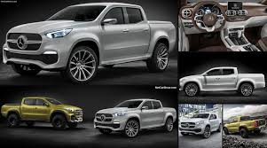 mercedes pickup truck mercedes benz x class pickup concept 2016 pictures