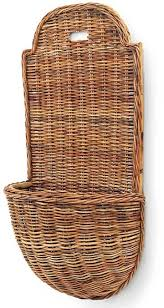 mainly baskets 18 x 35 5 x 11 provence rattan wall