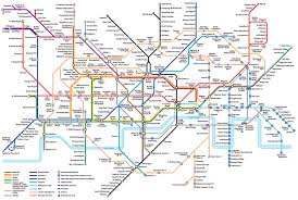 underground map the map of the underground is a 20th century work of