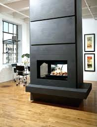 double sided gas log fire price fireplace south africa two corner