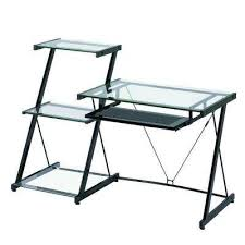 Desks With Bookcase Desks Home Office Furniture The Home Depot