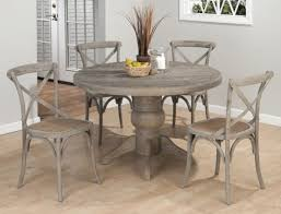 acme wallace dining table weathered blue washed weathered grey dining table unique wood 66 in room sets 9