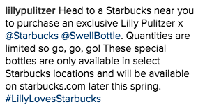 when can you buy lilly pulitzer x starbucks bottles online here u0027s