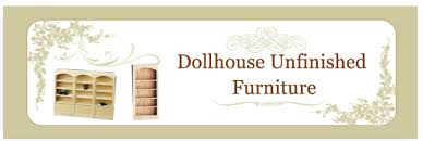 Unfinished Bookshelves by Dollhouse Furniture Unfinished Dollhouse Furniture Dollhouse