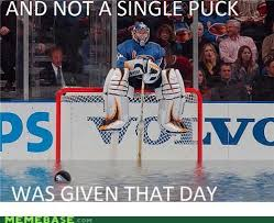 Hockey Goalie Memes - and not a single puck was given that day hockey memes hockey