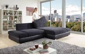 Wohnzimmer Couch Poco Poco Polstermöbel Bangkok Eckgarnitur Anthrazit Schwarz Möbel