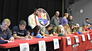 College National Letter Of Intent Dazzling Dozen Sign From Niskayuna High School