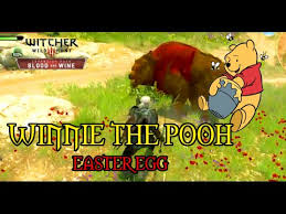 winnie the pooh easter eggs witcher 3 blood and wine winnie the pooh easter egg geralt