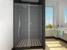 sliding shower doors and sliding door shower enclosures for the