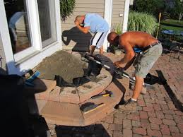 Making A Paver Patio by Brick Pavers Canton Plymouth Northville Ann Arbor Patio Patios