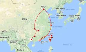 Korea On Map Where Is Tibet Located On Map Of China Asia And World For Beijing