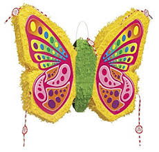 unique industries colourful butterfly pinata amazon co uk toys