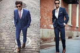 costume de marié couleur bleu - Costume Bleu Mariage
