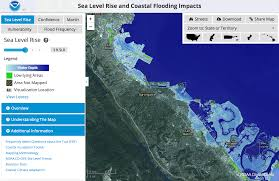 National Map Viewer Sea Level Rise Map Viewer Noaa Climate Gov