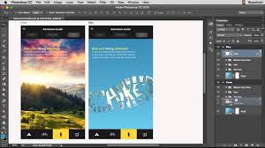 what u0027s new in photoshop for web ui ux and app design youtube
