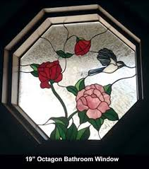 octagon stained glass window mac u0027s touch of glass