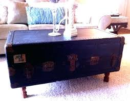 Trunk Style Coffee Table Pyramid Trunk Coffee Table Trunk Style Coffee Table Within Trendy