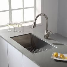 Types Of Faucets Kitchen Kitchen Amazing Stainless Steel Farm Sink Kitchen Faucets