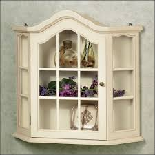 Corner Lighted Curio Cabinet Furnitures Fill Your Home With Dazzling Curio Cabinets For
