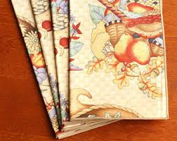 fall napkins set of 4 napkins dinner napkins cloth napkins
