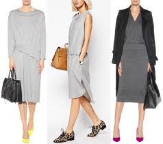 do the colors purple gray match well in clothes fashion what color shoes to wear with grey dress outfit