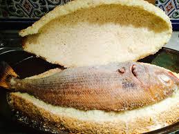 cuisine bar poisson poisson en croûte de sel sorosebonbons