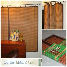 bamboo ring top curtains from curtain u0026 bath outlet livin u0027 the