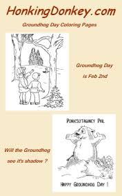 groundhog coloring pages honkingdonkey