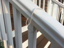 Garland Hangers For Banister Easy Diy Porch Rail Decoration Hangers 4 Steps