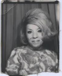 hair style photo booth vintage photo booth portrait flirty woman w big flip hair style