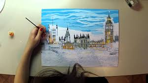 paint by numbers time lapse youtube