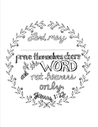 james 1 22 scripture coloring page personalize coloring book