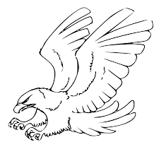 bald eagle black and white clipart clip art library