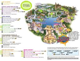 Map Of Premium Outlets Orlando by Universal Islands Of Adventure Map Universal Studios Islands Of