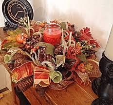 Fall Table Arrangements 69 Best Mesh Centerpiece Images On Pinterest Centerpieces
