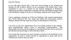 presentation letter letter and resume resume presentation letter sle resume